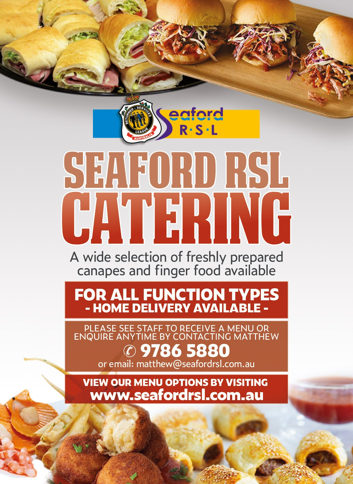 Seaford RSL Catering